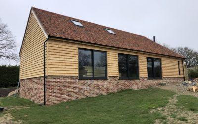 Oak Framed New Build in Buxted on Green Field Plot