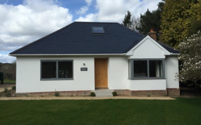 Full Refurbishment, Loft Conversion and 8m deep extension to form new Contemporary Family Home in Argos Hill, Sussex