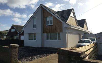 Transformation of a 3 Bedroom Bungalow to Two Storey 5 Bedroom Family Home in Peacehaven