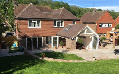 2 Storey Rear and a Single Storey Rear Extension to a property in Eastbourne