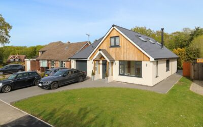 New Build Chalet Style Dwelling House in Robertsbridge, Sussex