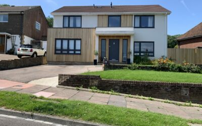 2 Storey Side Extension and Full Internal Refurbishment / Reconfiguration in Eastbourne